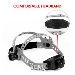 180°Panorama View Auto Darkening Welding Helmet/ Mask/ Hood for Weld Cut Grind