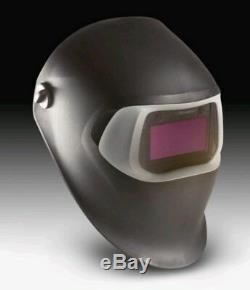 3M 37230 Speedglas 07-0012-10BL 100S Welding Helmet Black, Auto-Darkening Filter