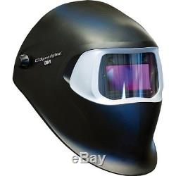 3M 37232 Speedglas Welding Helmet 100 Black with Auto-Darkening Filter