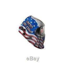 3M 37238 American Pride Speedglas 100 Welding Helmet Auto Darkening, Shades 8-12