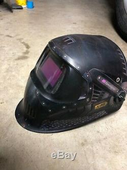 3M 37239 Speedglas Trojan Warrior Welding Helmet 100 with Auto-Darkening Filter