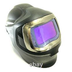 3M Adflo Speedglas 9100 MP PAPR Auto Darkening Welding Helmet Battery & Charger