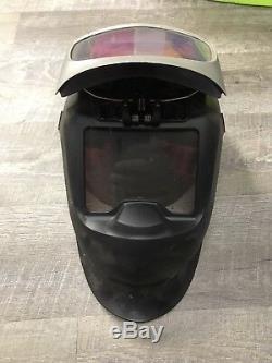 3M HWR9000 Flexview 9002X Speedglas Auto Darkening Weld Helmet, respirator, Jacket