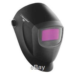 3M SPEEDGLAS 04-0100-20NC Helmet, Auto-Darkening Type, Black/Silver G7826108