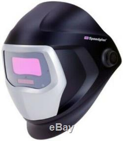 3M SPEEDGLAS 9100X WELDING HELMET 06-0100-20SW with SIDE WINDOWS
