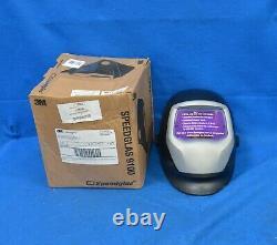 3M SPEEDGLAS Auto-Darkening 3 Arc Sensors Welding Helmet 06-0100-10