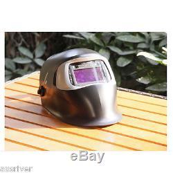 3M Speedglas 100V Auto Darkening Welding Helmet+ 2x Films Welder Mask MIG TIG