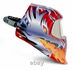 3M Speedglas 100V Auto Darkening Welding Helmet, Razor Dragon