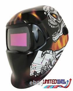 3M Speedglas 100V Series Welding Helmet Aces High Variable Shade 3 / 8-12