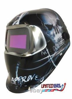3M Speedglas 100V Series Welding Helmet XTerminator Variable Shade 3 / 8-12