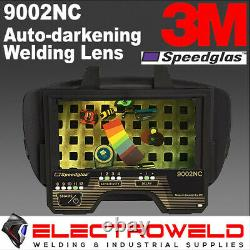 3M Speedglas 9002NC Welding Helmet Auto Darkening Filter Lens 400085