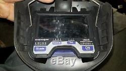 3M Speedglas 9002X Auto Darkening Welding Helmet with Adflow Backpack Used