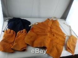 3M Speedglas 9002v Auto Darkening Welding Helmet and gloves and apron