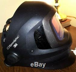 3M Speedglas 9100 FX Air Welding Hood with Acc, small chip in ADF
