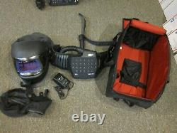 3M Speedglas 9100FX Darkening Welding Helmet WithAdflo -Case- FREE SHIPPING