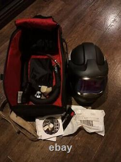3M Speedglas 9100MP XX Welding Helmet With 3M V-100 Vortex Cooling Valve & V-300