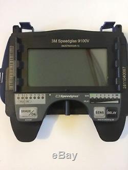 3M Speedglas 9100V Auto Darkening Helmet With Extras 100+ Dlls. In savings WOW