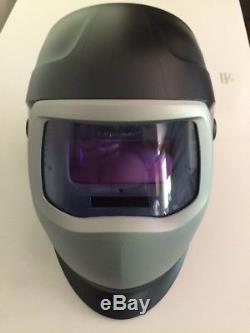 3M Speedglas 9100V Auto Darkening Helmet With Extras and very lightly used