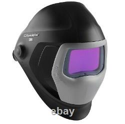 3M Speedglas 9100V Auto Darkening Welding Helmet, TIG, MIG, MMA, Shade 5, 8-13