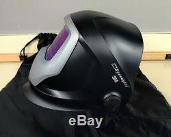 3M Speedglas 9100V Auto Darkening Welding Helmet With Carrying Bag