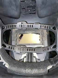 3M Speedglas 9100V Darkening Welding Helmet With Auto- Darkening Goggles Miller