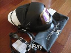 3M Speedglas 9100V FX Darkening Welding Helmet withSide Windows, Hornell Speedglass