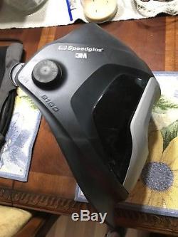 3M Speedglas 9100V Welding Helmet Shades 5, 8-13 Auto-Darkening withextras