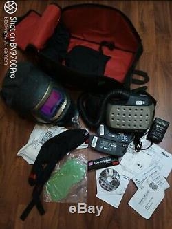 3M Speedglas 9100X FX Welding Helmet Hood Air Adflo Filtering Respirator Kit