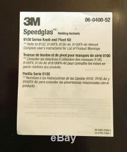 3M Speedglas 9100xx welding helmet Auto Darkening 9100 BRAND NEW FAST SHIP