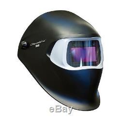 3M Speedglas Black Welding Helmet 100 with Auto-Darkening Filter 100V- Shades