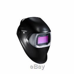 3M Speedglas Black Welding Soldering Helmet 100 Auto Darkening Filter 100V V s