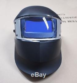 3M Speedglas SL Black Welding Helmet with Auto-Darkening Shades 8-12