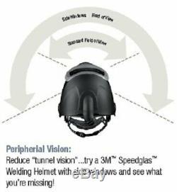 3M Speedglas Welding Helmet 9100 with Extra-Large Auto-Darkening Filter 9100XX