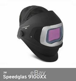 3M Speedglas Welding Helmet 9100XX Extra-Large Size Auto-Darkening Filter 2000hr