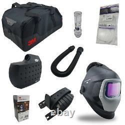 3M Speedglas Welding Helmet 9100XXi Air Adflo PAPR Air Purifying Respirator