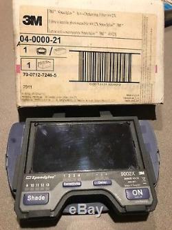3M Speedglas Welding Helmet Auto-Darkening Filter 9002X, USED
