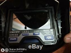 3M Speedglas Welding Helmet PAPR Air Adflo Filtering Respirator 9000HWR FV 9002x