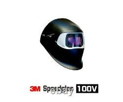 3M Speedglass Welding Helmet 100V with Auto-Darkening Filter Shades 8-12