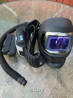 3m Adflo Speedglas 9100fx Welding Helmet Respirator & Griding Hood