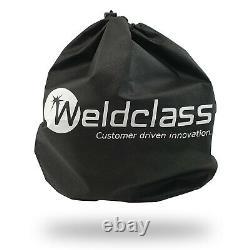 4 SENSOR Weldclass Promax 350 Blue Automatic Welding Helmet TIG MIG STICK