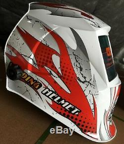 ABS New Auto Darkening Welding/Grinding Helmet cheater-lens-ready