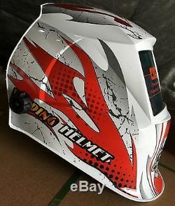 ABS pro Solar Auto Darkening Welding Helmet Arc Tig mig certified hood ABS