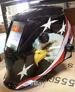 AEB New Solar Auto Darkening Welding Helmet Arc Tig mig certified mask grinding