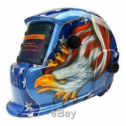 AEW New Mask Solar Auto Darkening Welding/grinding Helmet certified hood