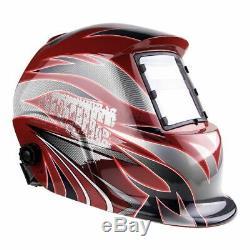 ART New Pro HD Auto Darkening Welding+Grinding certified hood helmet