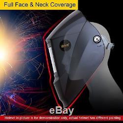 Antra AH7-X90-001X Solar Power Auto Darkening Welding Helmet Shade 4/5-9/9-13