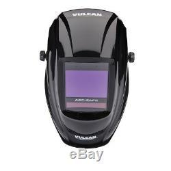 ArcSafe Auto Darkening Welding Helmet Vulcan uses RealView Lens Technology