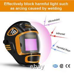 Auto Welding helmet darkening mask TIG MIG MMA Grinding 5-9 9-13 DIN TRUE COLOR