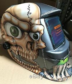 BBS Auto Darkening Welding/Grinding Helmet Mask Hood