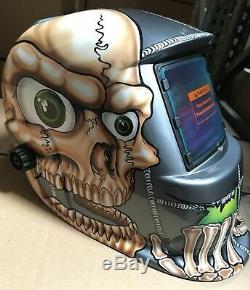BBS New Auto Darkening Welding/Grinding Helmet Hood